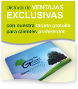 Tarjeta gratuita para clientes preferentes